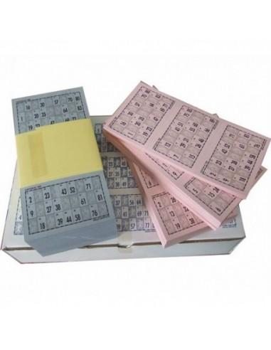 Cartones de Bingo troquelados. ArteSello