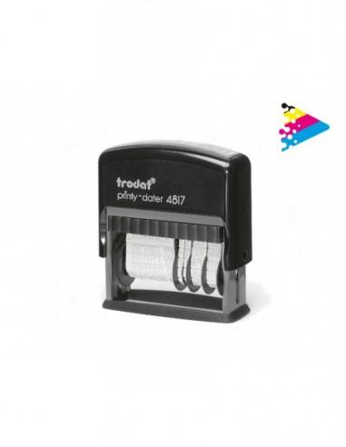 Trodat Printy 4817 fechador formulario_3,8 mm